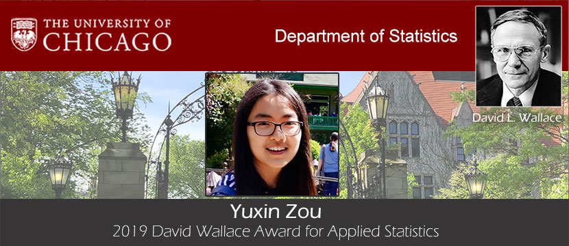 The University of Chicago, Department of Statistics, Announcements